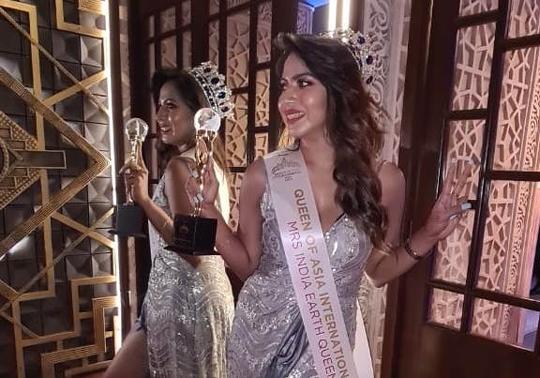 Soumi Dutta Kolkata Girl Achieved The Title Of QUEEN Of ASIA International 2021
